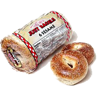 Just Bagels - available at Tufo Foods