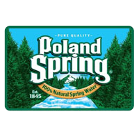 Poland Spring Water - available at Tufo Foods